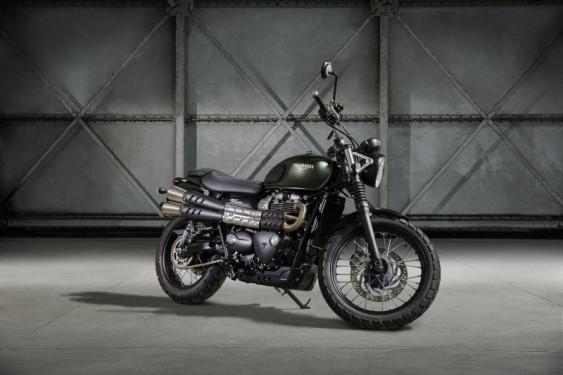 Nouveau Triumph Street Scrambler 900cc