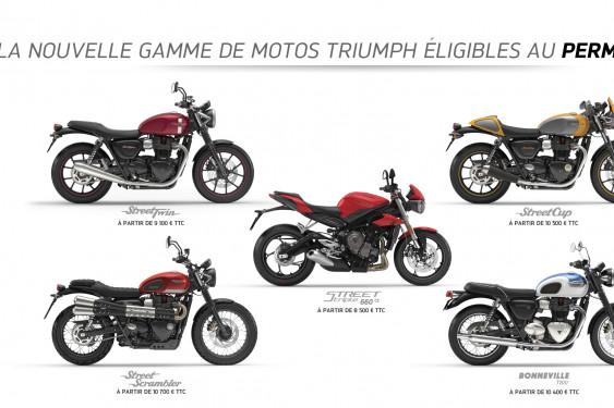 La Gamme Triumph